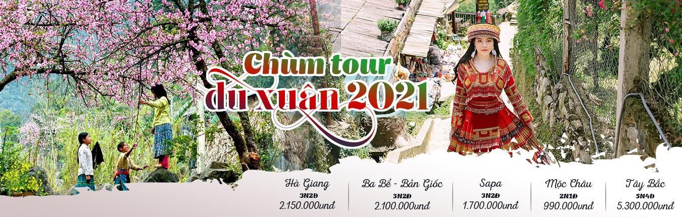 Chùm tour Du Xuân 2021